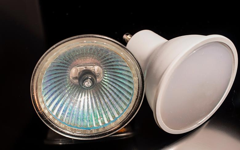 Luminaire comparison: LEDs vs. Halogens