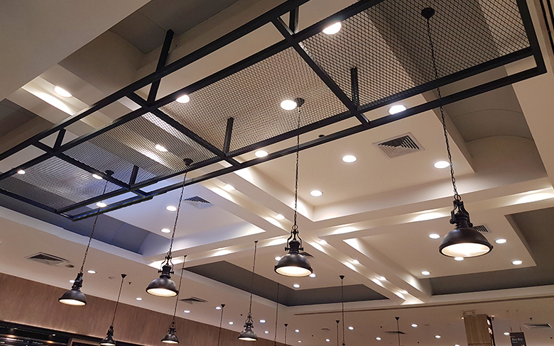 LED luminaires that can accentuate your ceiling