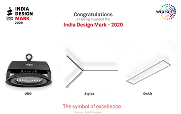 Congratulations on being awarded the India Design Mark - 2020