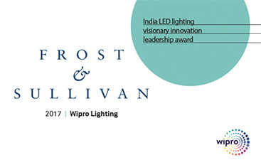 India LED lighting visionary innovation leadership award