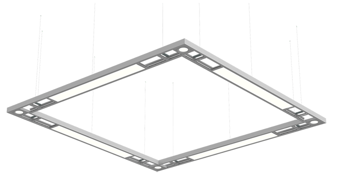X-RAIL -  Commercial Suspended Luminaires - Wipro Lighting