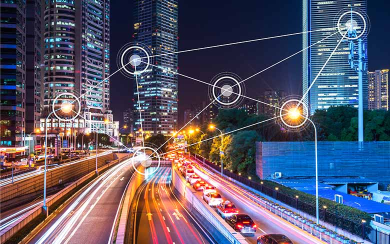 IoT connectivity with smart street lighting for a brighter future