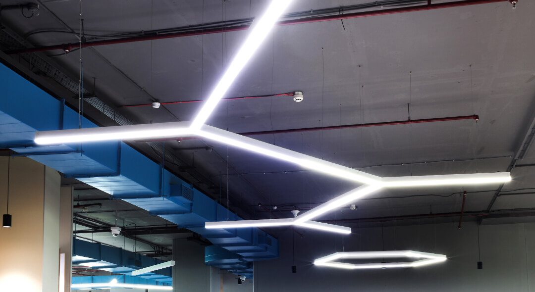 MODERN WORKPLACE LIGHTING
