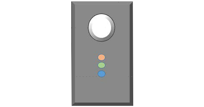 Wall-mounted Smart Daylight Sensor with PIR Presence Detector - PoE